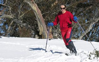 IMG telemark skiing and cross country skiing in Perisher